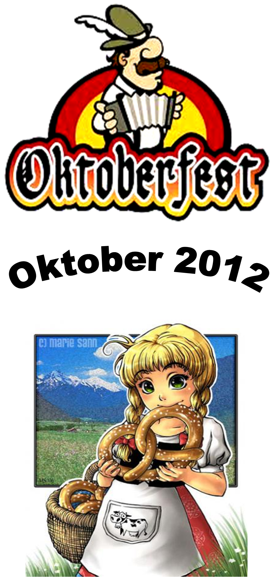 Grüße zum Oktoberfest!