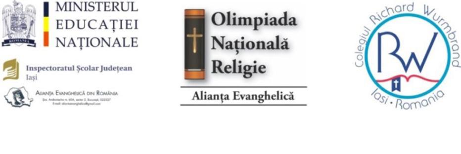 Deschiderea festivă a Olimpiadei Naționale de Religie