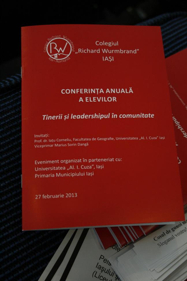 Proiectele conferinței de leadership