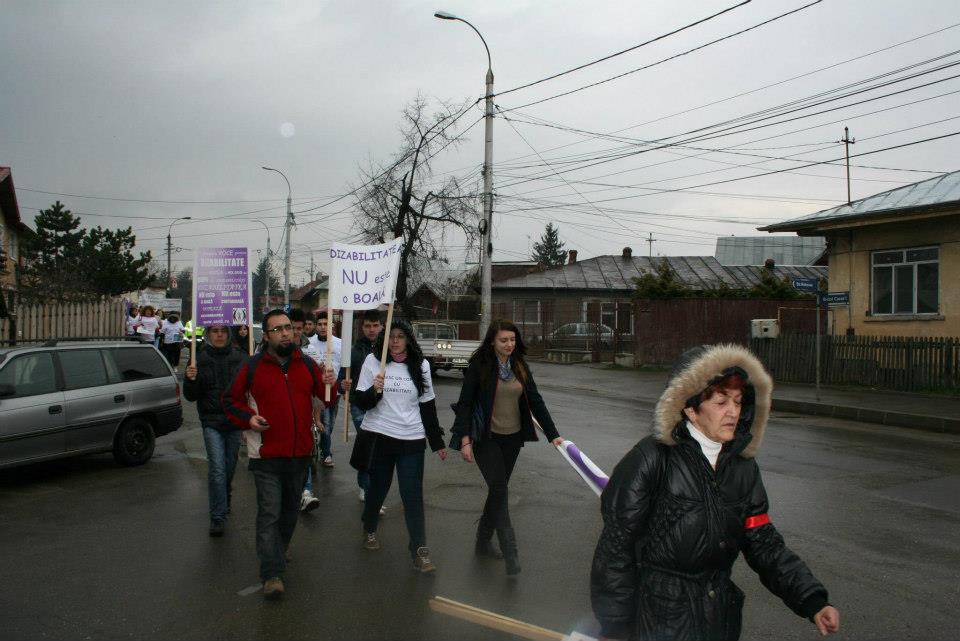 """Marșul """"O singură Voce Pentru Dizabilitate"""""""