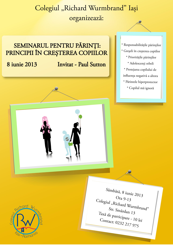 Seminar pentru părinți