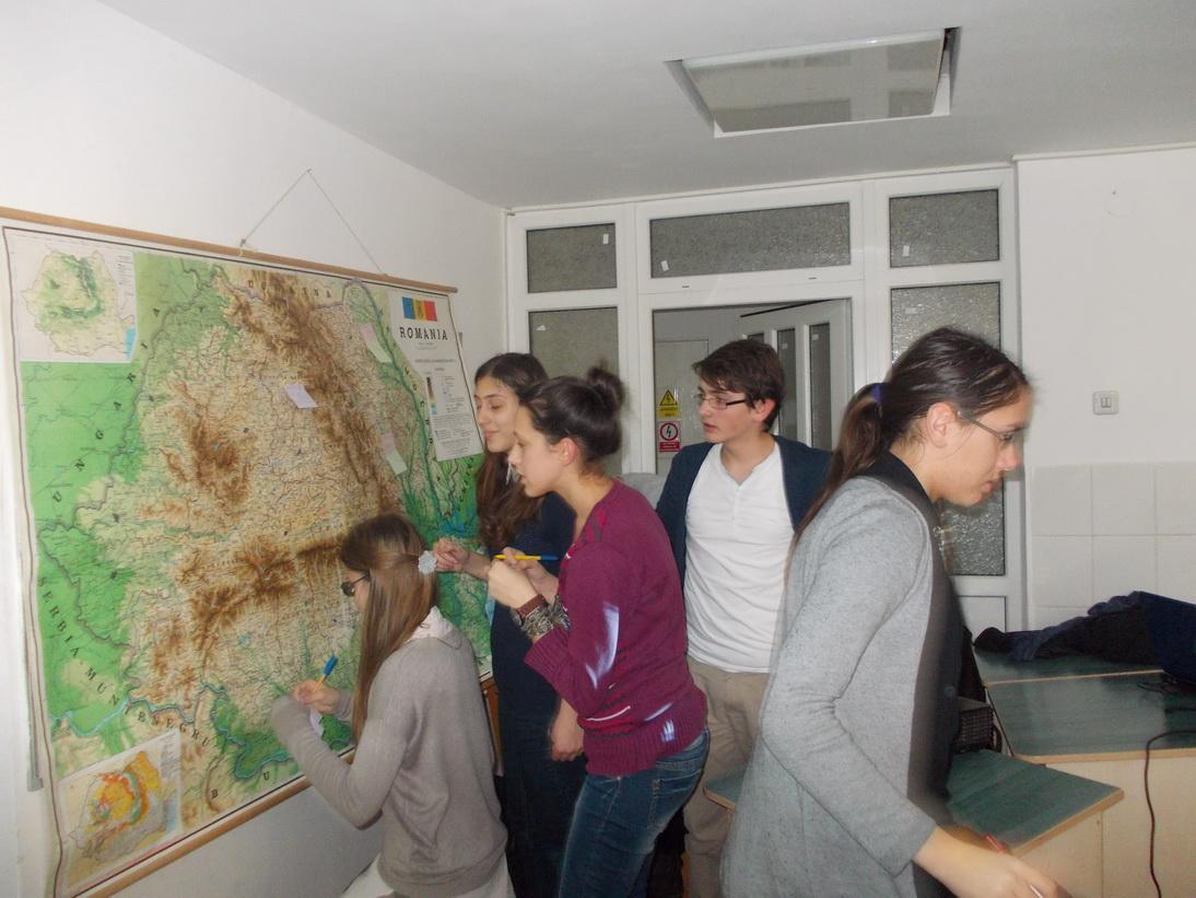 Harta interactivă a scriitorilor români