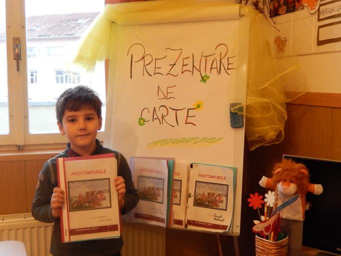 "Proiectul ""Prima mea carte"" – clasa a II-a B"